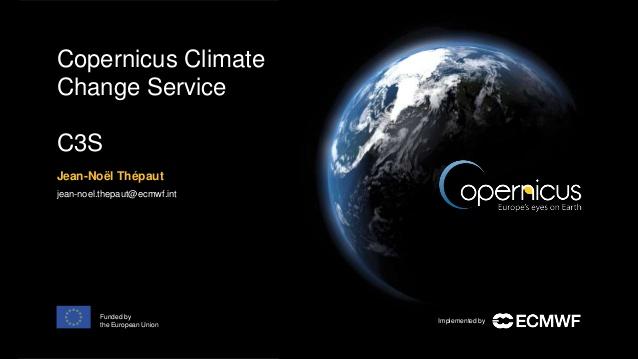 News C3S Copernicus